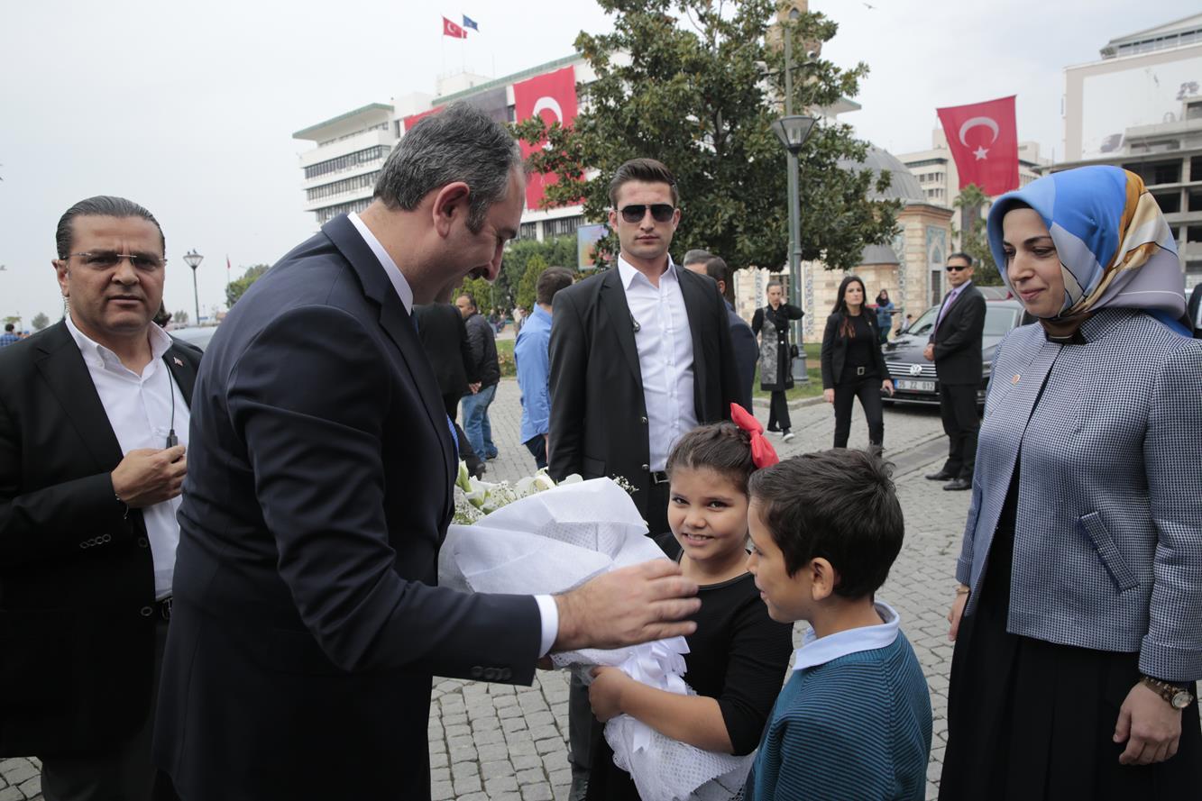 adalet bakani abdulhamit gul izmir valiligini ziyaret etti